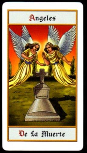 Tarot de los Ángeles - La Muerte