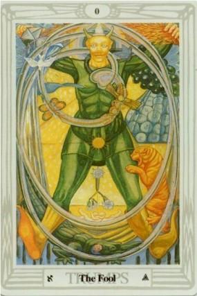 Tarot Crowley - El Loco