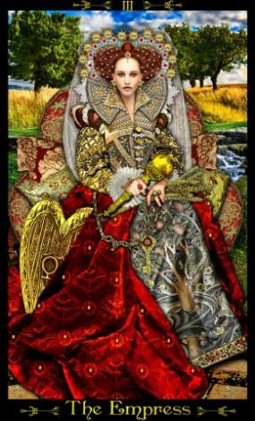 Tarot Illuminati - La Emperatriz