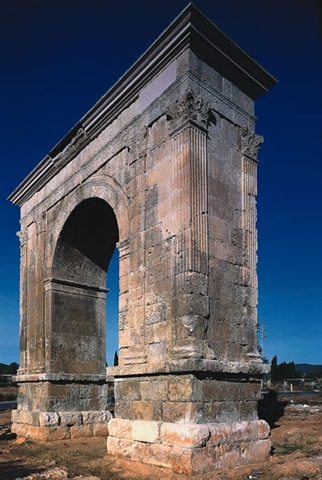 arco de bara conjunto arqueológico de Tarragona