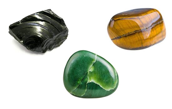 azabache,jade, ojo de tigre, Géminis