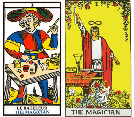 el mago, representaciones