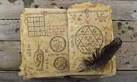 grimorio libro de hechizos wicca