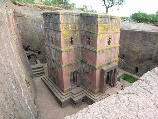 iglesias de Lalibela subterráneas