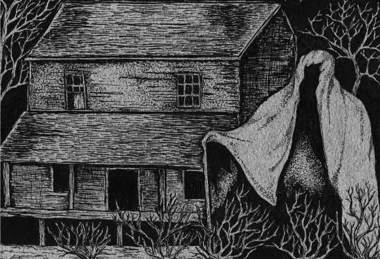 Bruja de Bell, fantasma asesino