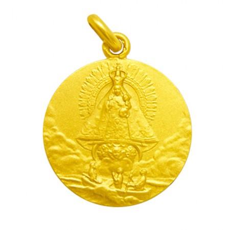 medalla virgen de la caridad del cobre