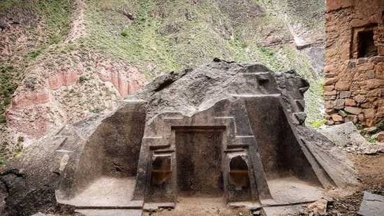 Naupa Huaca, ruinas en Perú
