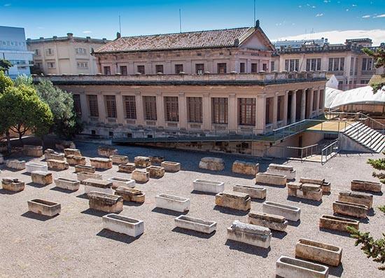cementerio paleocristiano de tarragona
