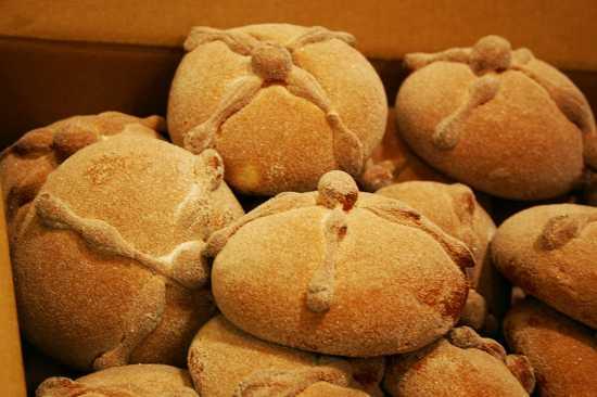 origen pan de muerto