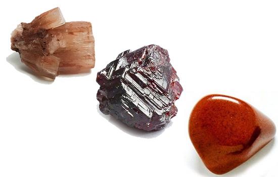 sagitario ragonito, Granate, Jaspe Rojo