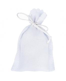saquito blanco amuleto