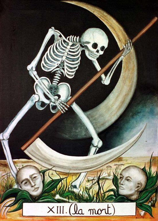 carta de la muerte en el tarot del amor