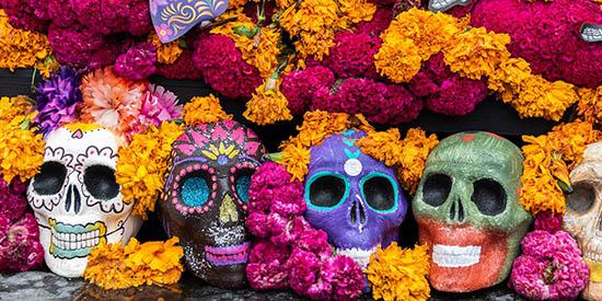dia de muertos tarot en mexico