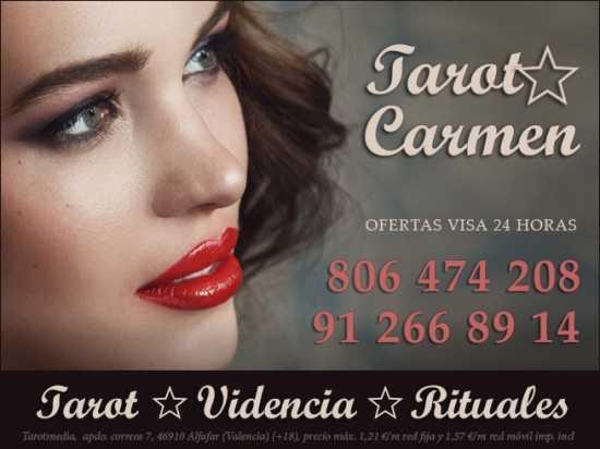 Tarot bueno y económico de Carmen