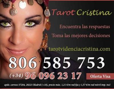 Tarot telefónico barato - Cristina