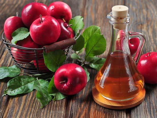 vinagre de manzana con agua oxigenada