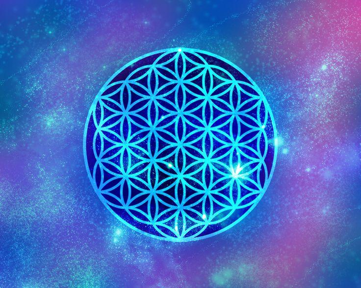 La Flor De La Vida Símbolo De Armonía Universal